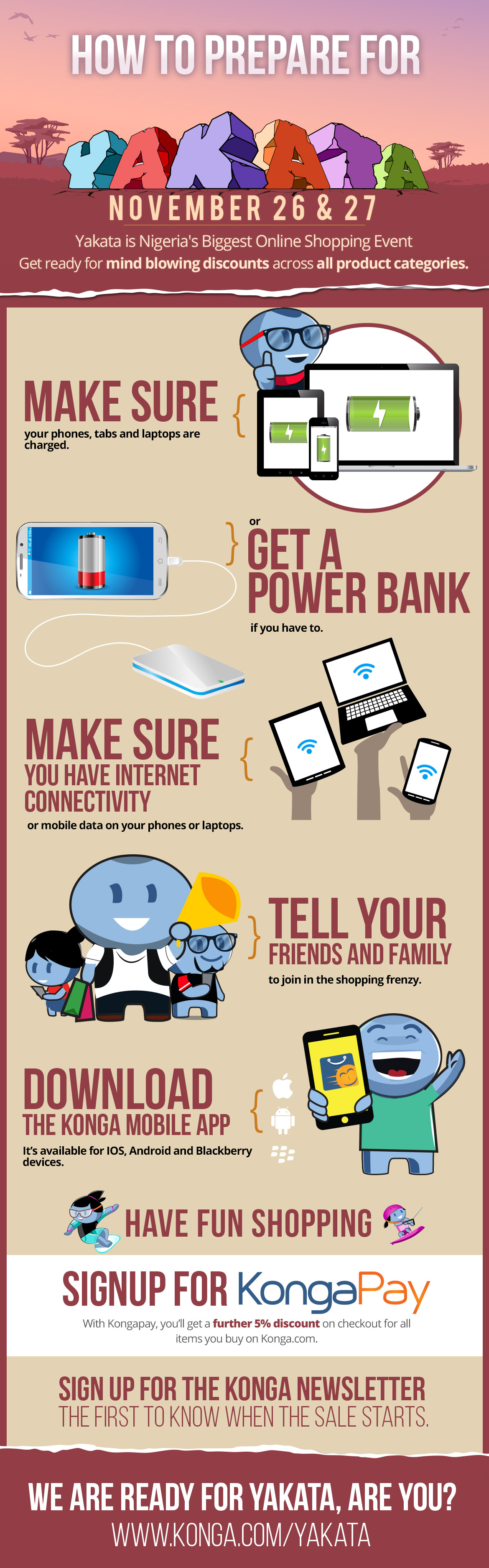 Infographic: How to Prepare for Konga #Yakata2015 Sales