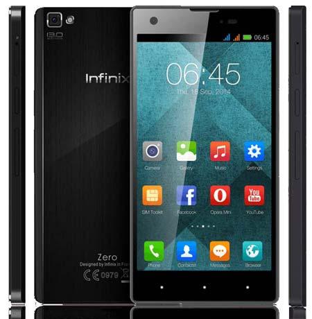 Infinix Zero Full Specs & Price in Nigeria