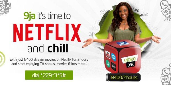 Etisalat Launches Netflix Data Plan in Nigeria