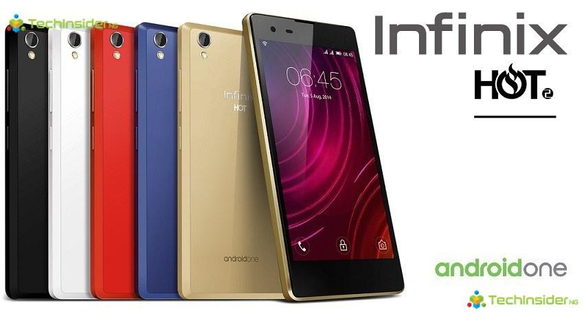 Infinix Hot 2 Specs & Price in Nigeria - Android One