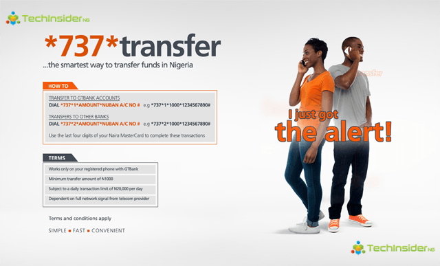 How to Transfer Money from Your GTBank Account to Another Bank Account with a Torch-light Phone